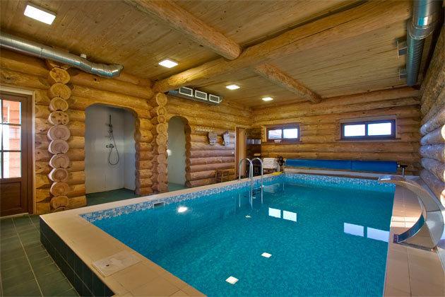 Фото домов с бассейном внутри