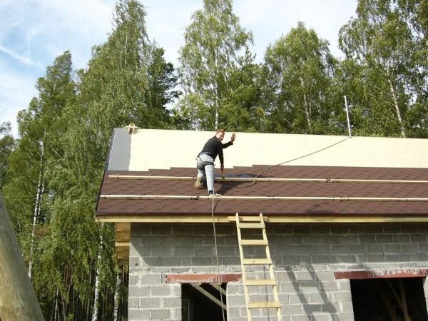 Покрытие крыш домов своими руками 5