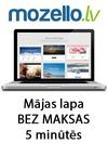 Mozello, mājas lapu izstrāde
