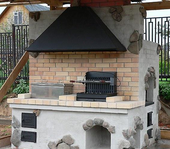 Печка камин своими руками